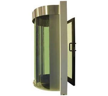 Commercial Security Doors - Half Portal